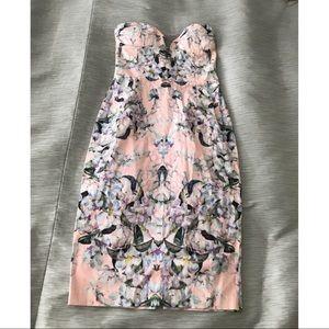 Strapless Floral ASOS dress